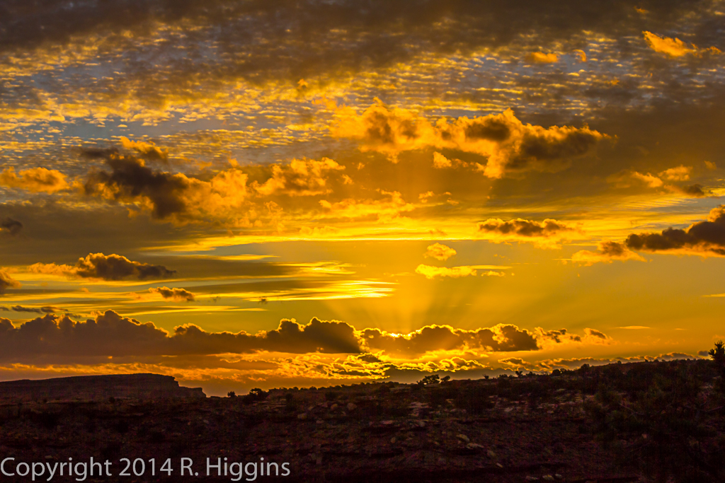 Hunt's Mesa Sunrise